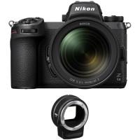 Nikon Z6 II + 24-70mm f/4 + FTZ адаптер