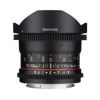 Samyang 12mm T3.1 VDSLR ED AS NCS Fish-eye