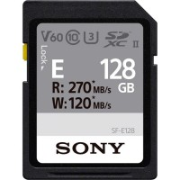 Sony 128GB SDXC UHS-II U3 V60 R270/W120Mb/s (SFE128.AE)